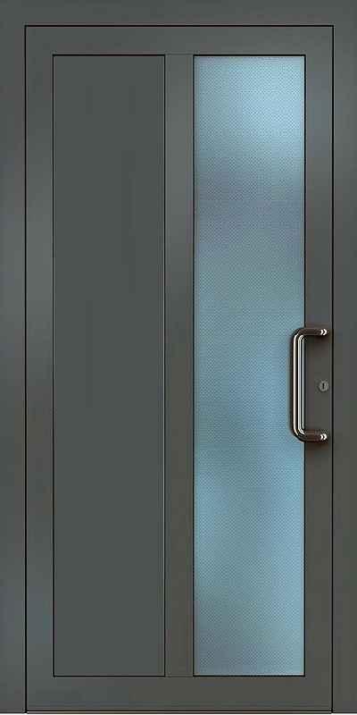 Hliníkové dveře skladem